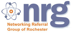 Networking Referral Group of Rochester (NRG) Logo
