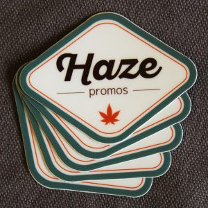 Haze Promos Stickers